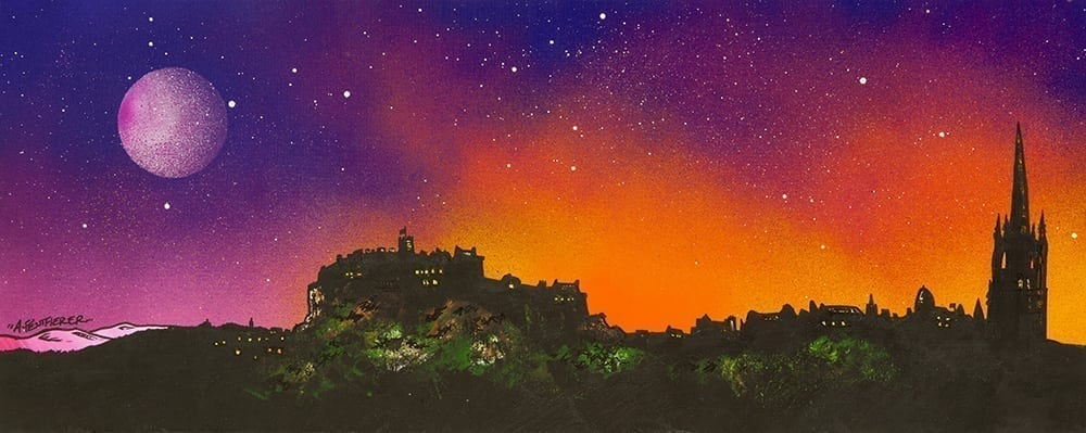 Painting and prints of Edinburgh, Scotland