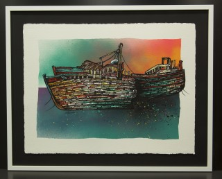 Paintings & Prints – Salen Trawler Boat Wrecks, Isle Of Mull, Hebrides, Scotland.