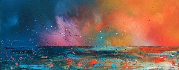 Paintings & Prints – Ardnamurchan Summer Sunset, Evening Squall, Scotland