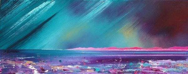 Paintings & Prints – Isle Of Tiree, Summer Storm, Hebrides, Scotland.