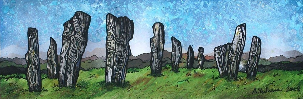 Isle of Lewis paintings, prints & commissioned art