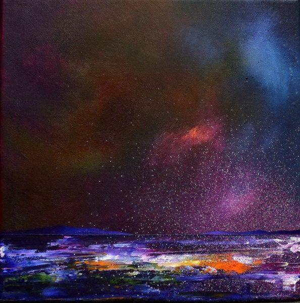 Loch Lomond Painting & Prints – Evening Light, Balloch, Scotland.