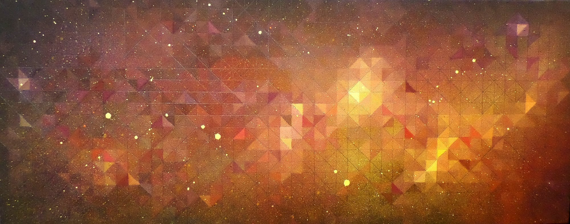 Kelly Watch The Stars - An Abstract Space painting & prints