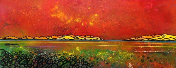Iona Summer Shore, Hebrides, Scotland An Original Painting & Prints.