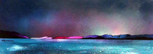 Loch Ness From Urquhart Castle, Winter Light, Scottish Highlands – An Original Painting & Art Prints