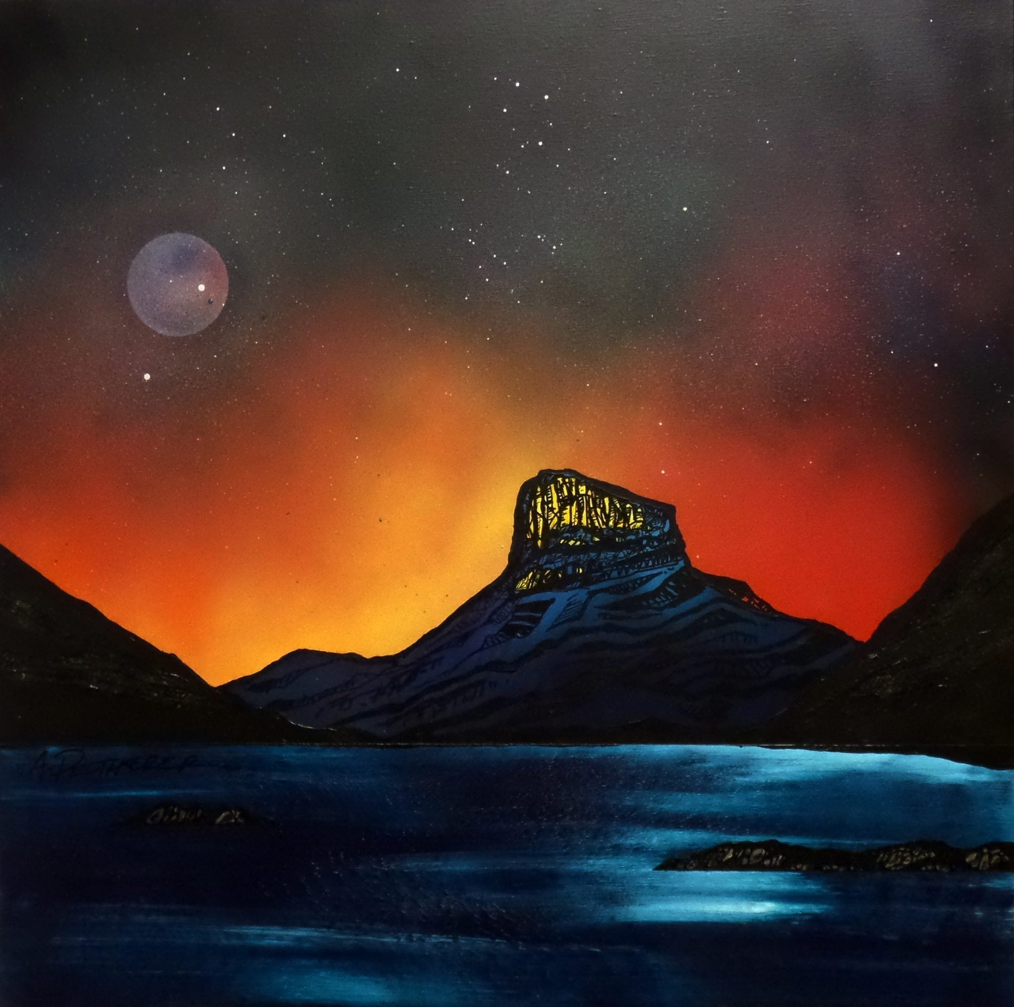 Stac Pollaidh, Inverpolly - An original painting & prints