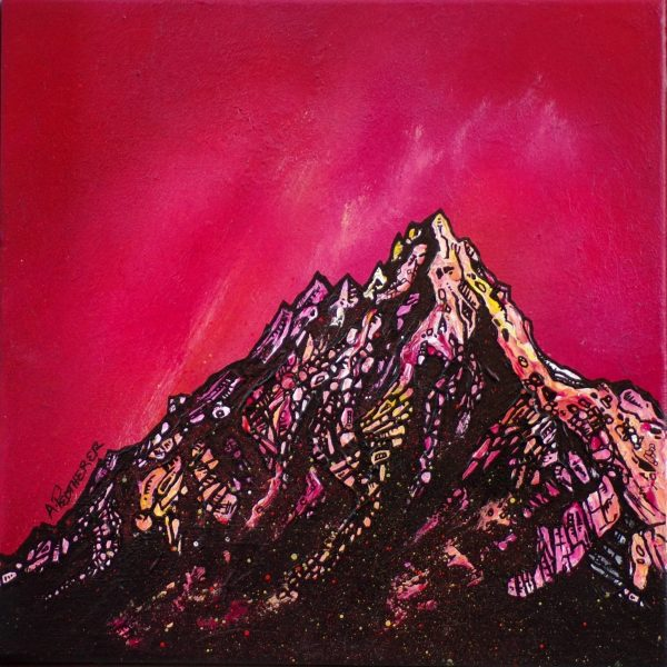 Cir Mhor, Arran, Scotland – An Original Painting & Prints By A Peutherer
