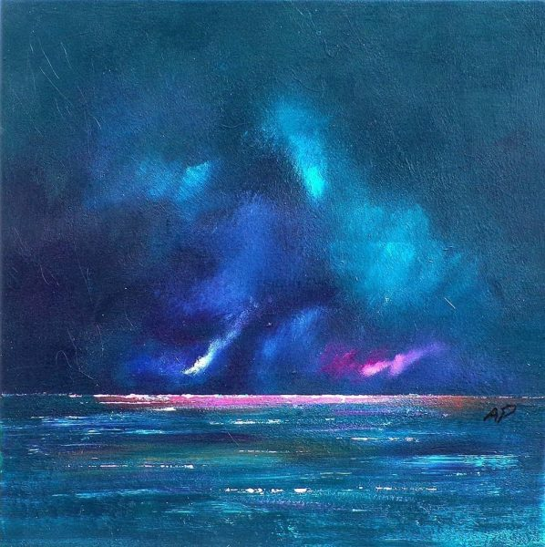 Loch Ness Storm, Scottish Highlands – Original Landscape Painting & Prints of Scotland
