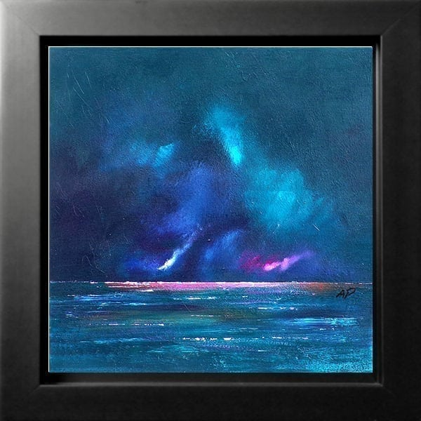Loch Ness Storm, Highlands Of Scotland - An original painting & prints