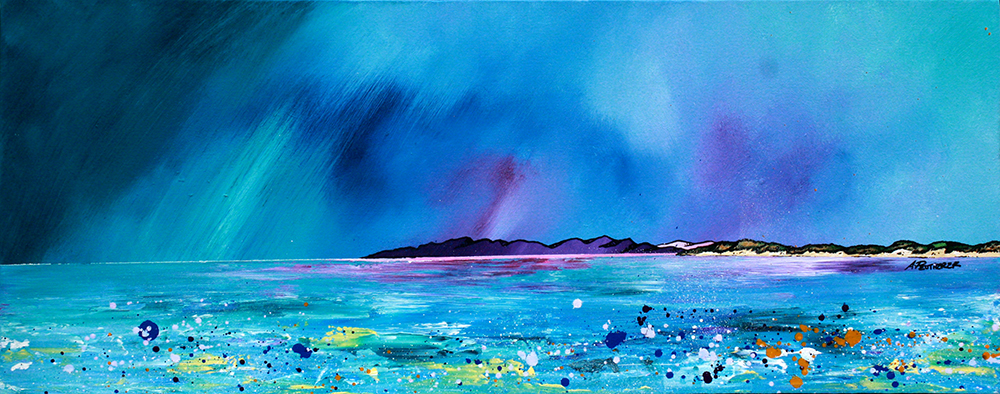 Painting & prints of Balephuil Beach, Isle Of Tiree, Scotland.