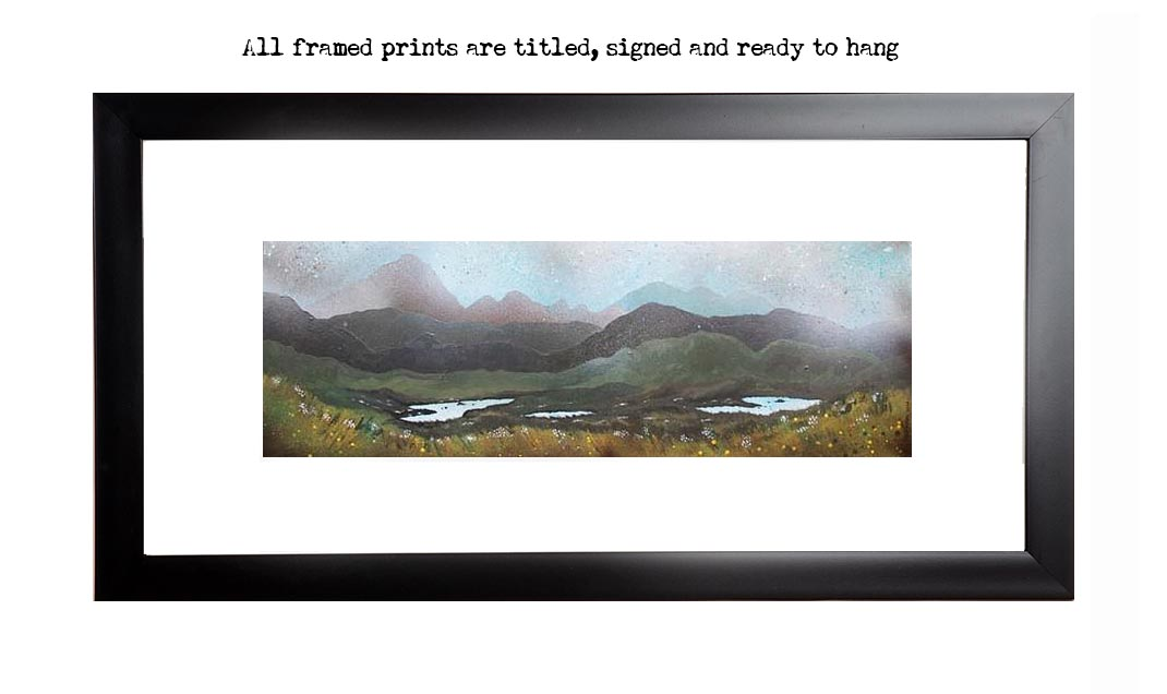 Framed print of Airdhbruach, Isle of lewis, Scottish western Isles, Hebrides