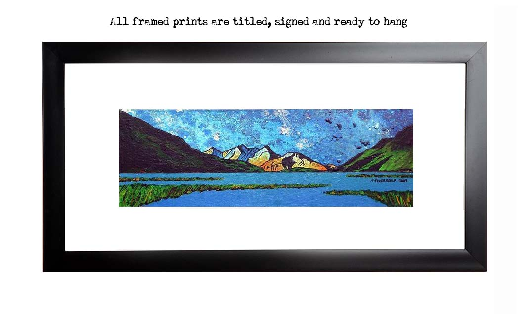 Framed print of Loch Etive, Argyll and Bute, Scotland.