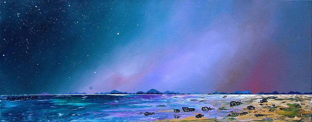 Painting & prints of Harris, Hebrides, Scotland.
