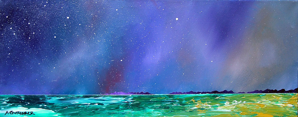 Painting & prints of Isle Of Harris, Scottish Outer Hebrides.