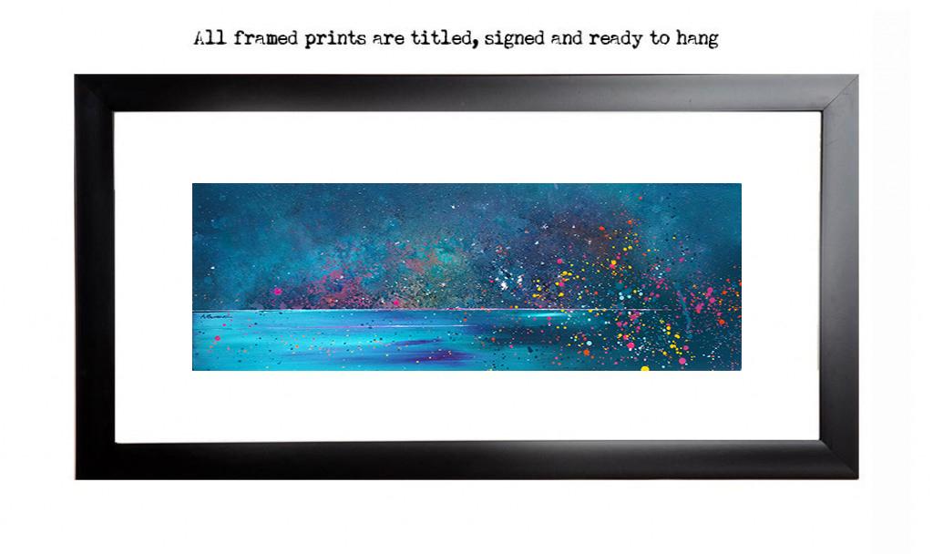 Isle of Harris framed art print