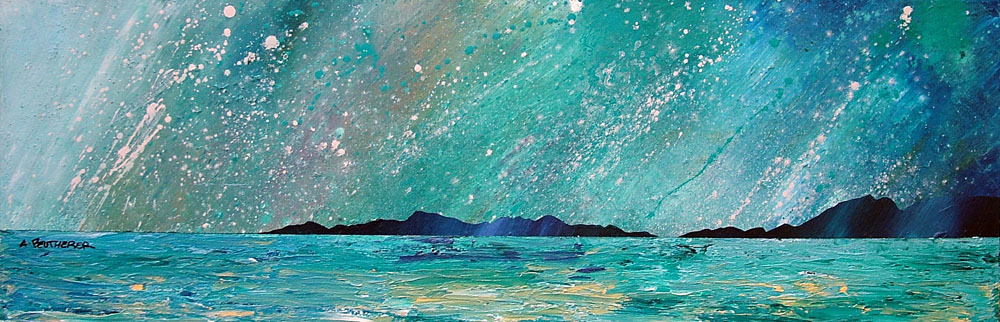Paintings & prints of Horgabost, Isle Of Harris, Scottish Outer Hebrides.