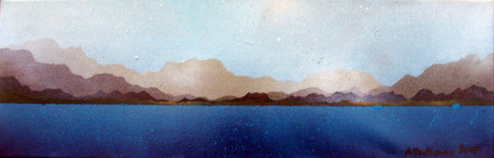 Contemporary Scottish fine art paintings, prints and greetings cards of Lewis, Isle of Lewis, Outer Hebrides, Scotland.