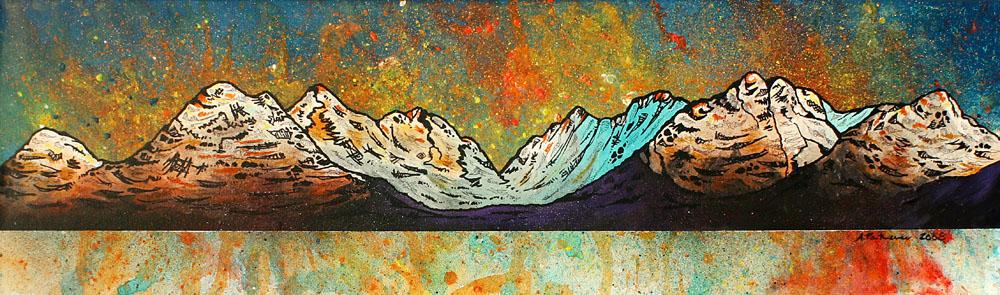 Scottish painting & prints of Loch Torridon, Scottish Highlands.