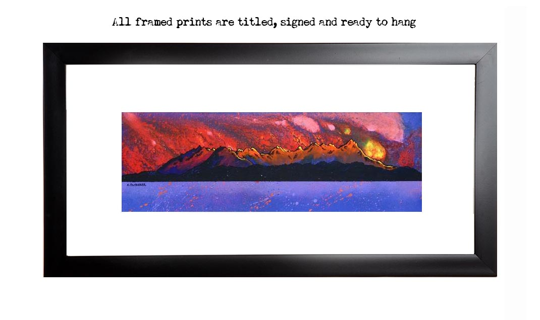 Framed print of Elgol, The Cuillin, Loch Coruisk, Isle Of Skye, Scotland