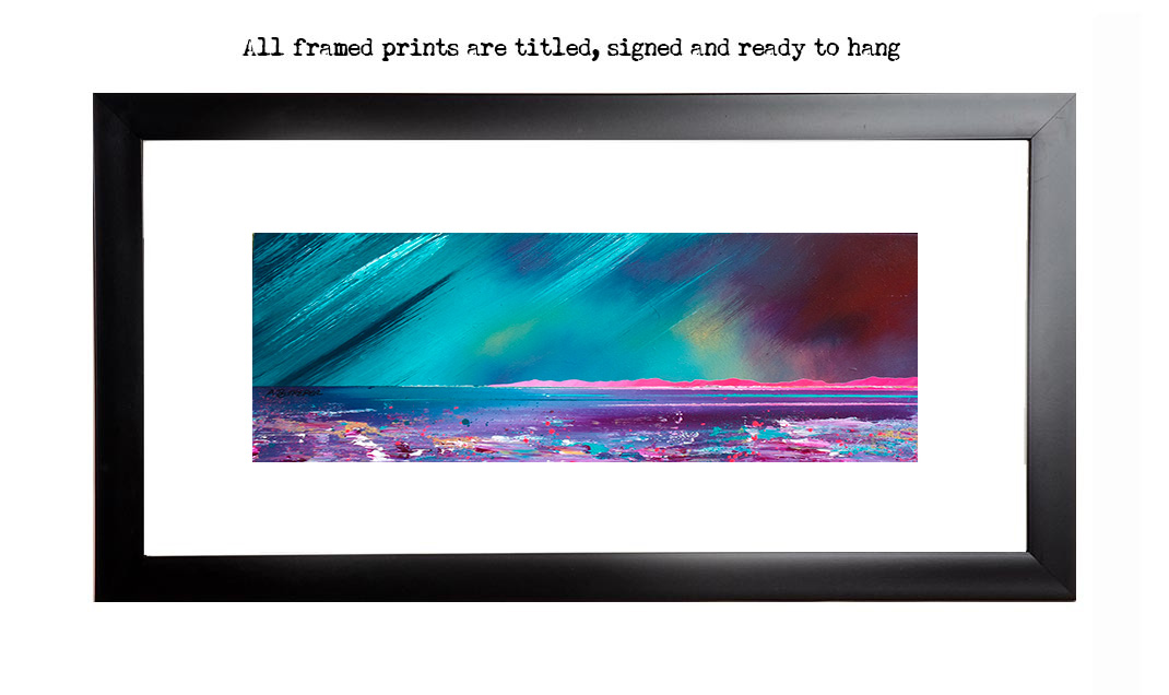 Framed print of Tiree, Hebrides, Scotland