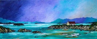 Paintings & Prints – Barra Winter Croft, Isle Of Barra, Scottish Outer Hebrides.