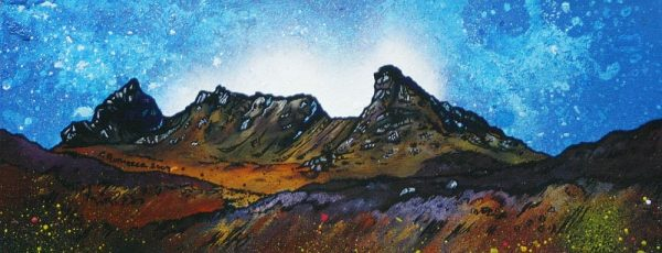 Scottish Highlands Paintings & Prints – The Cobbler (Ben Arthur), Arrochar, Scottish Western Highlands.