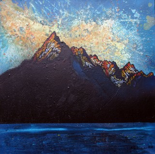 Cuillin 2, Winter Sunset, Cuillin mountains, Isle Of Skye, Scotland.