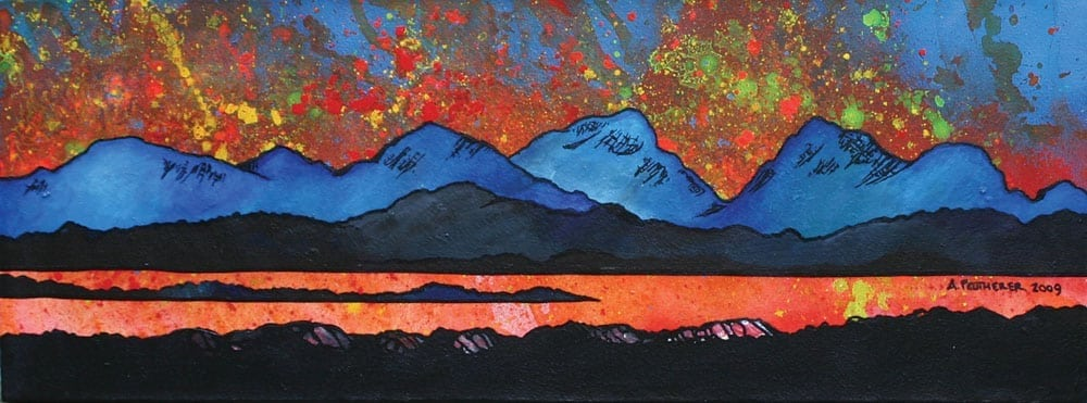 Paintings Amp Prints The Paps Of Jura From The Isle Of