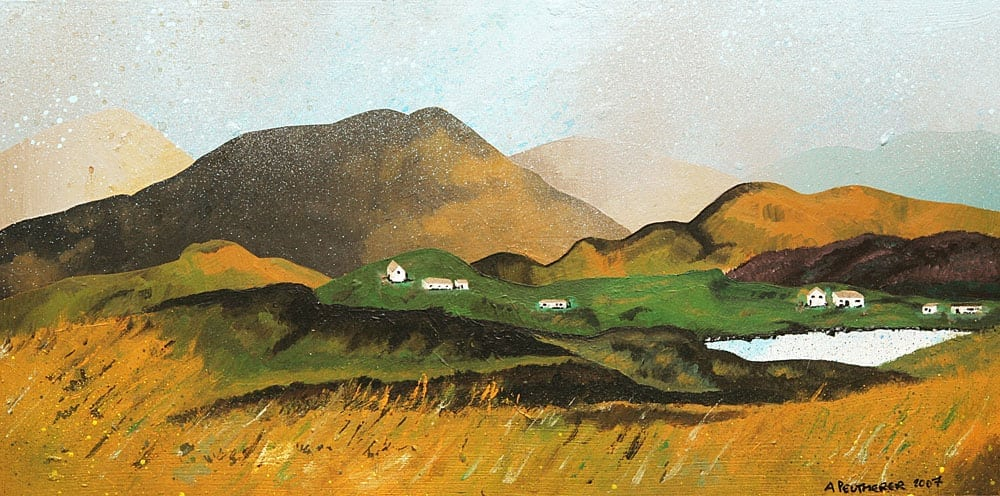Paintings and prints of Over Laxay, Isle Of Lewis, Scotland.