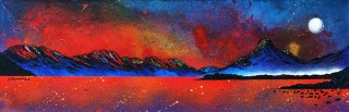 Glencoe Paintings & Prints – Pap of Glencoe Sunrise over Loch Leven, Ballachulish, Argyll, Scotland.